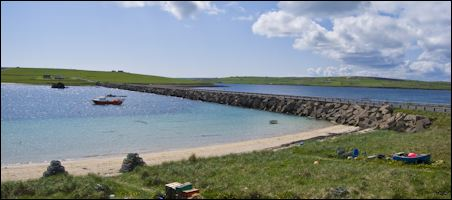 Churchill Barriers, Orkney, Scotland