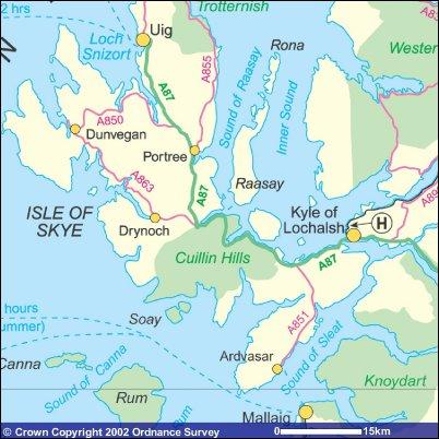 Isle of Skye Accommodation Travel  Sightseeing  Scottish Islands