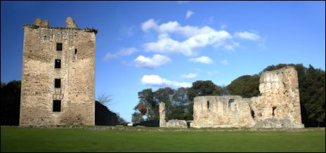 Spynie Palace, Elgin, Scotland